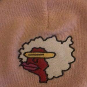 806244d478d Supreme Accessories - Pale pink supreme gonz ramm beanie
